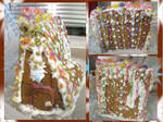 Gingerbread house by Sia-the-Mawile