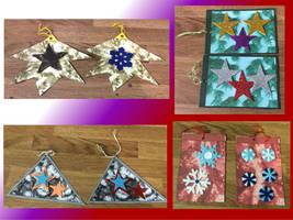 Handmade Christmas gift tags 3 by Sia-the-Mawile