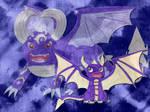 Skylanders Ring of Heroes-Spyro Poster by Sia-Mon