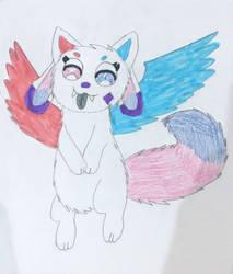 Kittydog Crystal by Sia-Mon