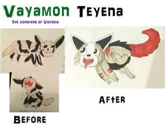 Vayamon develoment- Teyena by Sia-Mon