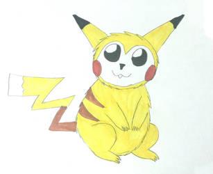 Classic Pikachu by Sia-Mon