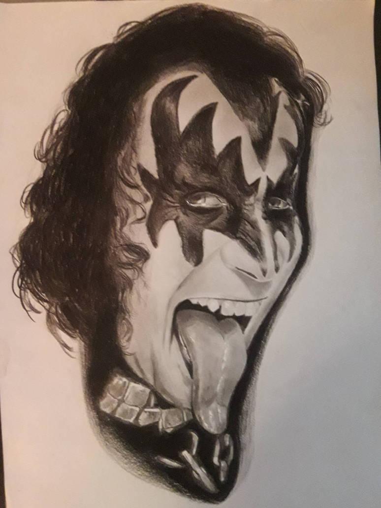 Gene Simmons  by adorablestejidos