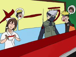 Naruto's new job!! by KayTheYatagarasu