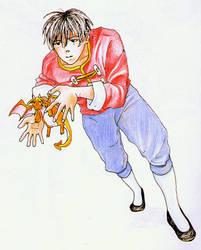 Pet Dragon by happylilsquirrel
