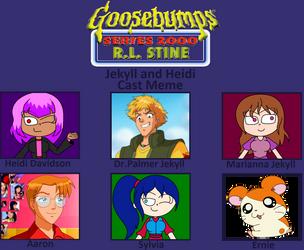 My Goosebumps 2000 Cast Meme - Jekyll and Heidi by arrienne408
