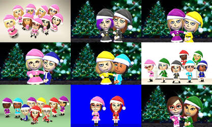 Tomodachi Life - Xmas Photos by arrienne408