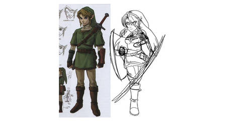 Lina sketch 2 by SolStrike19