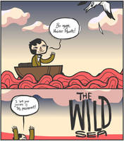 The Wild Sea +Page 1+ by pseudonymjones