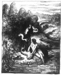 Slavic Mythology - Wodnik (Aquarius) by masiani