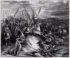 Germanic Mythology - Walkiria by masiani