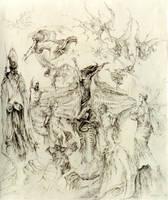 Crucifixion by masiani