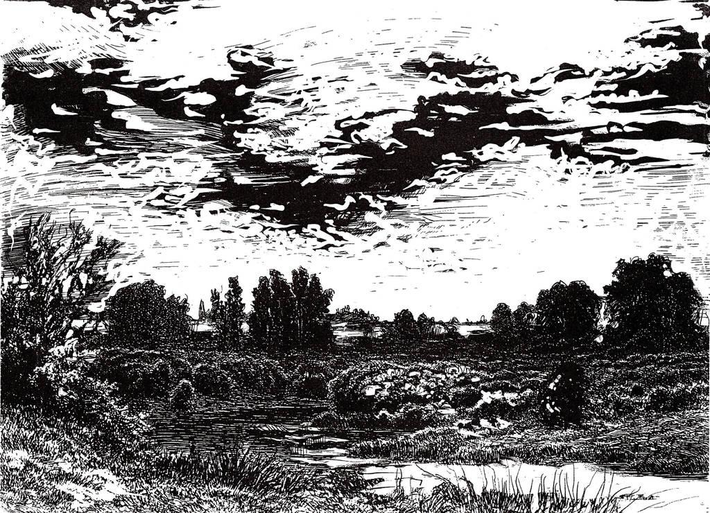 Slavic Mythology -River Valley Notec by masiani