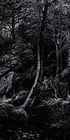 Slavic Mythology - Poisoned birch by masiani