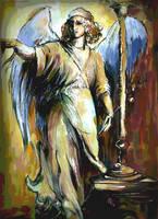 Archangel RAPHAEL by masiani