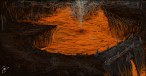 Khelder's den's lava cave by wyky