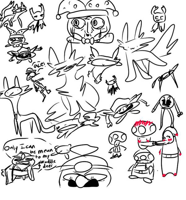 uwu new tablet doodles by Whipptcream