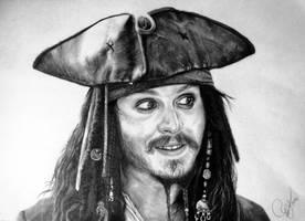 Captain Jack Sparrow by Schoerie