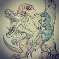 Jurassic World (FINAL BATTLE) by Erickzilla