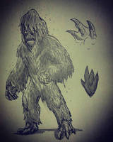PCF : Swamp Creature  by Erickzilla