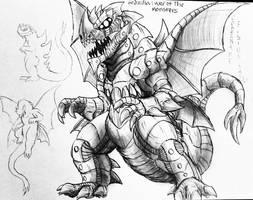 Godzilla:WarOfTheMonsters: Super SaiGoyamur File   by Erickzilla