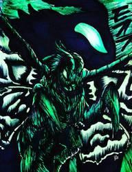 GodzillaKOTM : MOSURA 2019 (COLOR) by Erickzilla