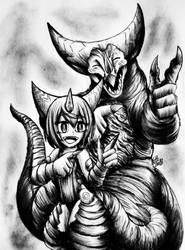 Kaijuu Girls : Hey, How's It Going? by Erickzilla