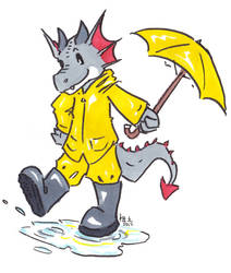 they call him mr. rainboots by not-fun