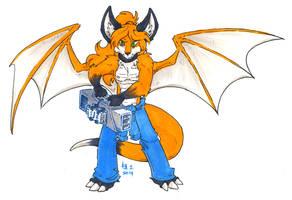 toby foxpaw by not-fun
