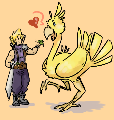 racing chocobos place your bets by not-fun