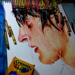 Crayola Crayon drawing by blueprince312