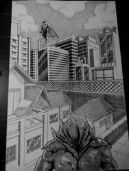 Own Manga/comic page by blueprince312