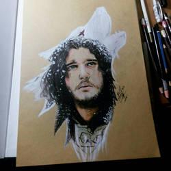 Jon Snow by blueprince312