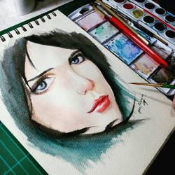 random girl by blueprince312