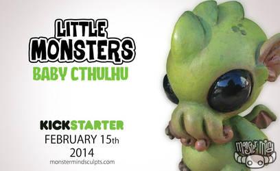 Baby Cthulhu coming to Kickstarter by Kahiah