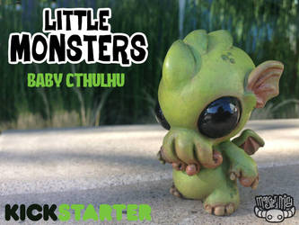kickstarter baby Cthulhu project by Kahiah