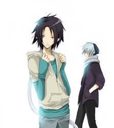 Kai and Rei by Gasara