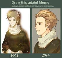 [Draw This Again] Sergei by Gasara