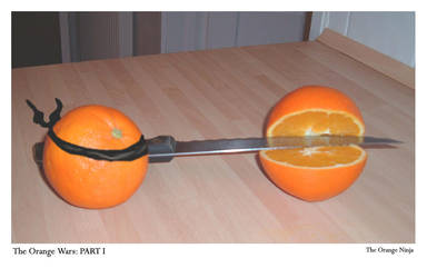 Orange Ninja by NeedIdentity