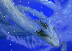 Ice Dragon by DogFreak108