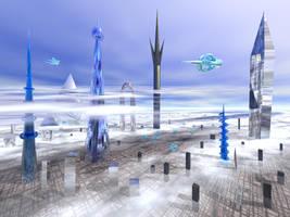 Alien Town by Iben by iben1