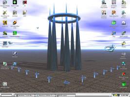 Alien Temple by iben1