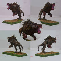 Chaos Hound 3 by Kitsufox