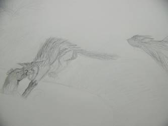 End of Sleekstar - Drawing by Kitsufox