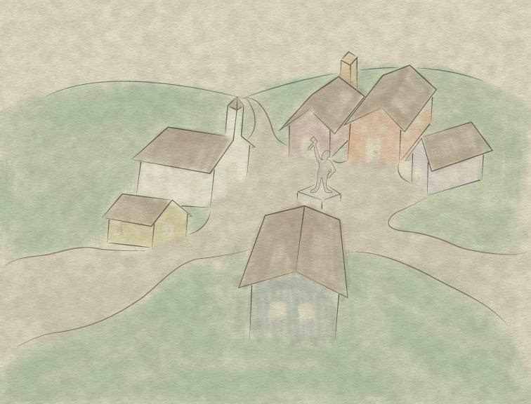 Village of Shepard - V1 by Kitsufox