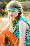 Colourful Hippie Girl by jolantajola1