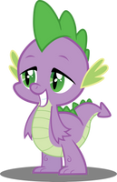 Grinning Spike by Sansbox