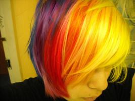 Rainbow Hair by Jiiri