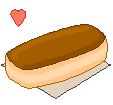 Pixel Chocolate Donut by sosogirl123