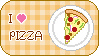 I love pizza stamp by sosogirl123